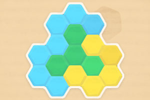 五彩六边形