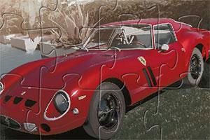 红色法拉利250拼图