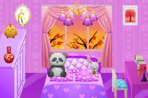 美丽公主卧室布置