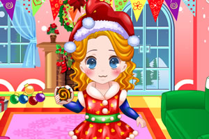 小艾比过圣诞节