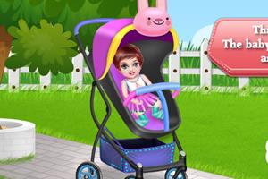组装婴儿手推车