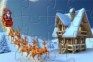 圣诞老人拼一拼