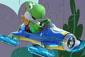 小乌龟开飞船拼图