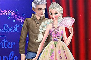 冬季时尚夫妇
