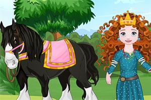 宝贝和她的小马