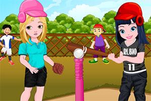 索菲亚打棒球
