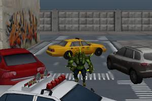 绿巨人停车3d
