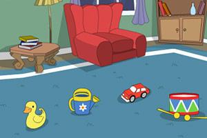 逃离玩具卧室