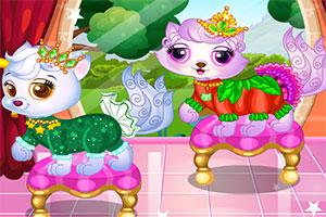 可爱的猫咪公主