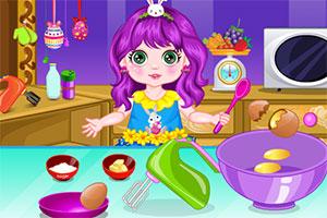公主的复活节蛋糕