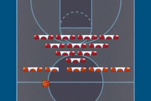 篮球撞砖块