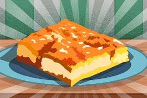 美味的油炸蛋糕