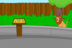 逃离无人的动物园