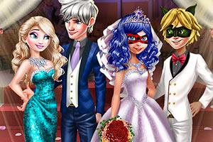 皇家婚礼装扮