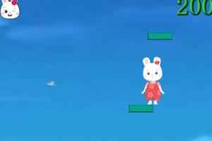 米乐米可台阶跳跃