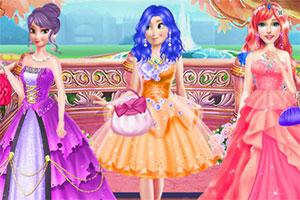 公主冬季服装