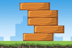 降落的木板