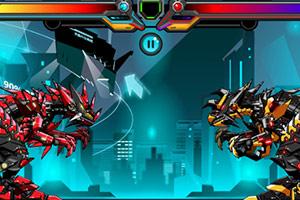 机器霸王龙对抗战