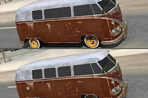 厢式运输车找不同