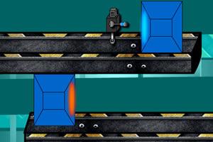 火柴人实验机器人之传送光屏