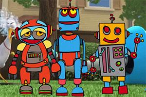 给机器人填色