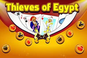 埃及小偷纸牌接龙