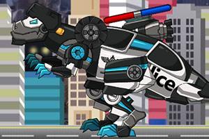 组装机械变形警车2