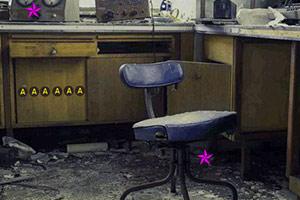 逃离废弃的实验室