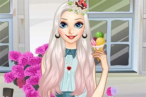 爱吃冰淇淋的公主