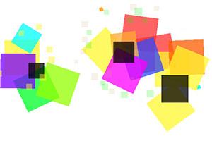 五彩方块大碰撞