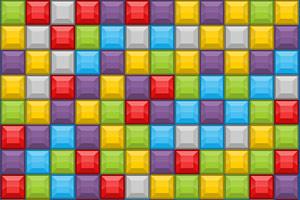 五彩方块对对碰