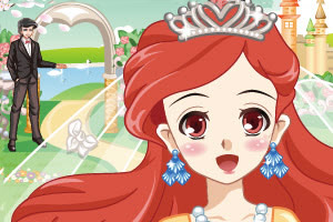 王子和美人鱼公主的婚礼
