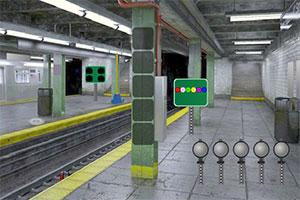 地铁站逃出