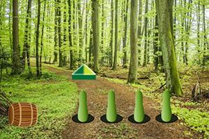 逃离野外的丛林