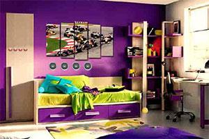 逃离紫色装修房