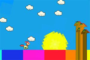 彩虹上奔跑