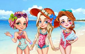 三姐妹的暑假之旅