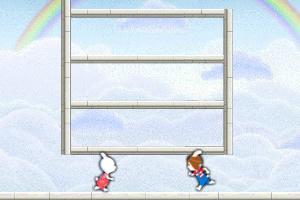 米乐米可跳天梯