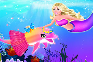 粉红海豚护理