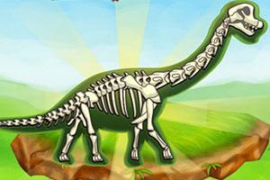 挖掘恐龙化石
