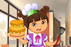 朵拉小厨师做蛋糕