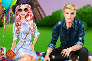 芭比与肯的野餐