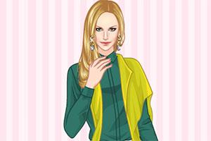 清雅绿服饰