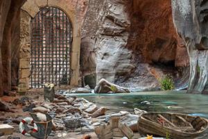 逃离神秘大峡谷