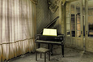 逃离遗弃的房间