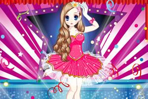 森迪公主的舞蹈服装
