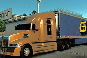 大型货物卡车找轮胎