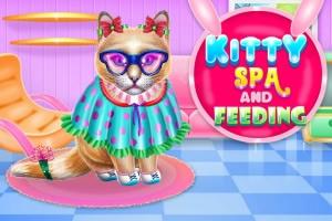 凯蒂猫水疗和喂养