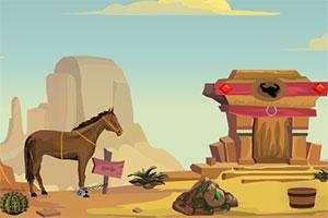 牧场主马逃跑