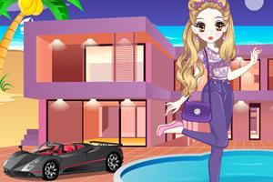 森迪公主的时尚豪宅